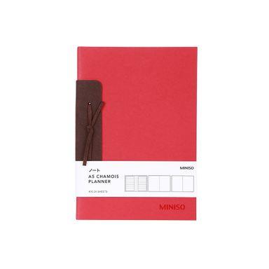 Cuaderno a5 rojo -  Miniso