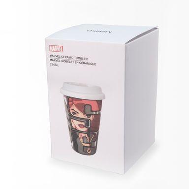 Vaso de cerámica black widow gris -  Marvel