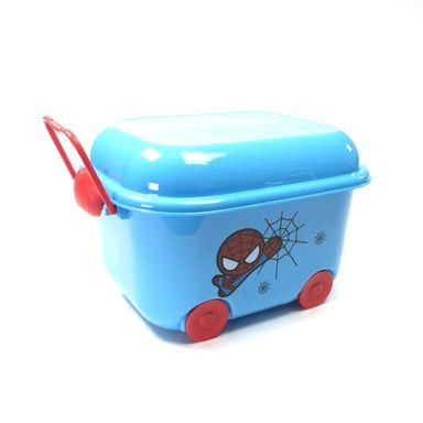 Caja de almacenamiento spiderman celeste -  Marvel