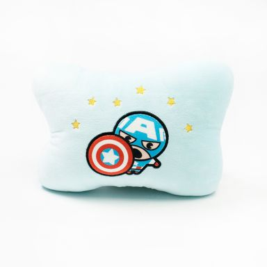 Almohada de capitán américa celeste -  Marvel