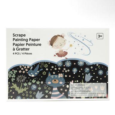 Libro para colorear técnica scrape -  Miniso