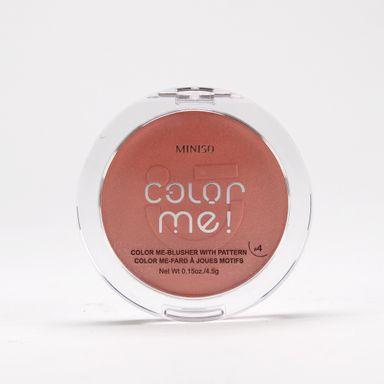 Rubor en polvo 04 color me -  Miniso
