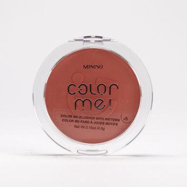 Rubor en polvo 05 color me -  Miniso