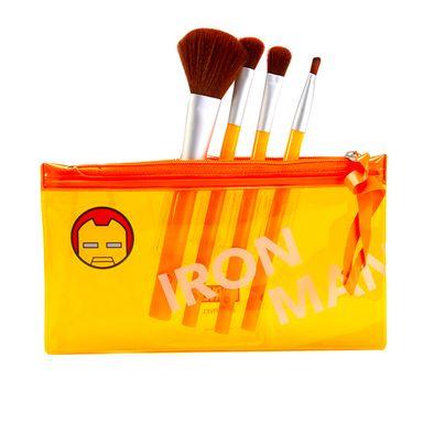 Brocha de maquillaje set naranja -  Marvel