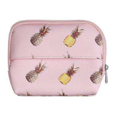 Monedero cuadrado pineapple -  Miniso