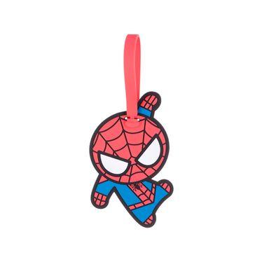Etiqueta para equipaje figura spider man - Marvel