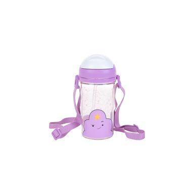 Vaso de plástico con sorbete princess bubblegum morado 400 ml  - Adventure Time