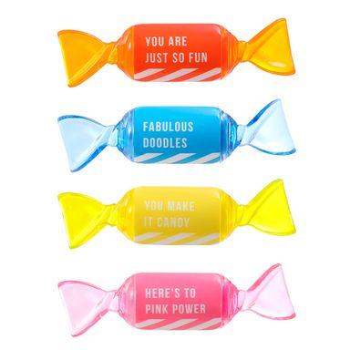 Paquete de marcadores 4 pzas candy rainbow series -  Candy Series