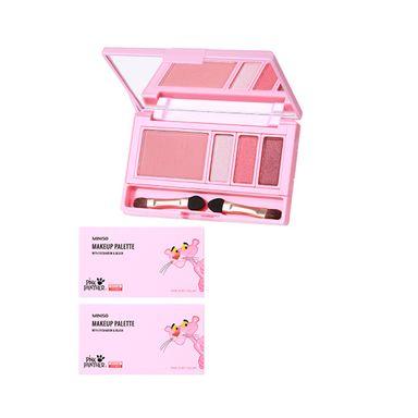 Paleta de sombras para ojos y rubor 4 colores 02 sweet pie 10g  pink panther - Pink Panther