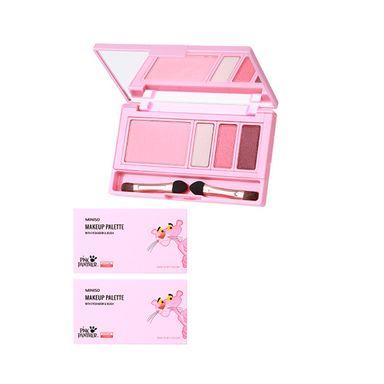 Paleta de sombras para ojos y rubor 4 colores 03 foxy girl 10g  pink panther - Pink Panther