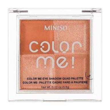 Sombra para ojos 4 colores #07 35 g color me -  Miniso