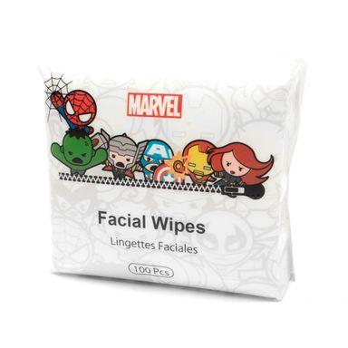 Toallas desmaquillantes 100 pzs -  Marvel