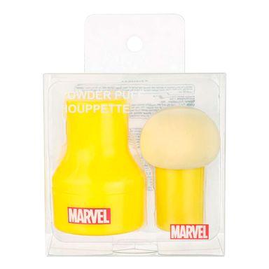 Esponja para maquillaje con caja iron man/capitán américa -  Marvel