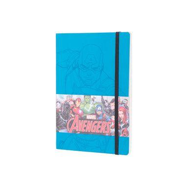 Libreta de notas capitán américa celeste -  Marvel