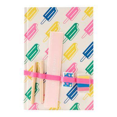 Libreta de notas con pluma candy rainbow series -  Candy Series