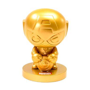 Ornamento decoración dorado capitán américa 2.0 -  Marvel