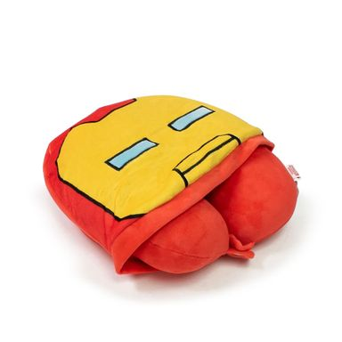 Almohada para viaje con gorro iron man - Marvel
