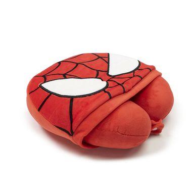 Almohada para viaje con gorro spider man - Marvel