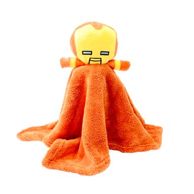Toalla de baño para manos iron man naranja -  Marvel