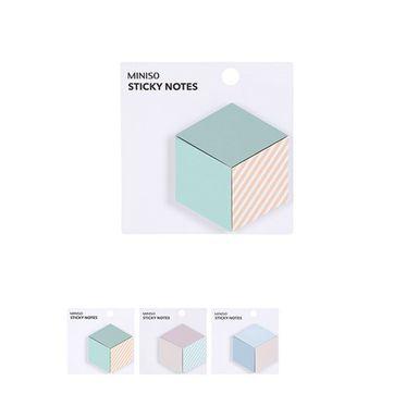 Paquete de post it cuadrados -  Miniso