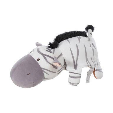 Peluche de mono zebra gris - Miniso