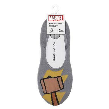 Medias para mujer 2 pzas  -  Marvel