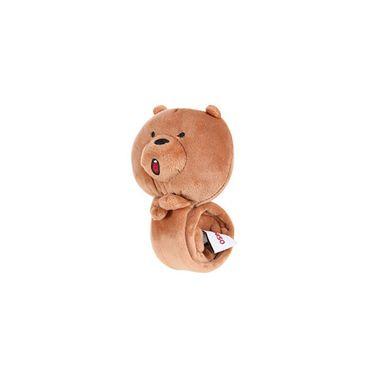 Brazalete en forma de cabeza grizzly marrón -  We Bare Bears