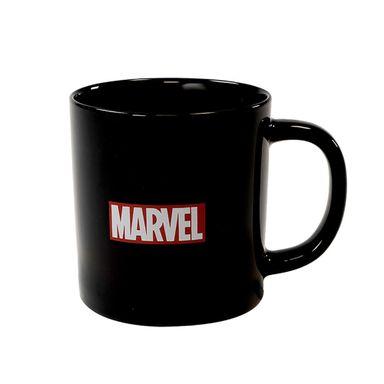 Taza de ceramica  400 ml  blanco - Marvel