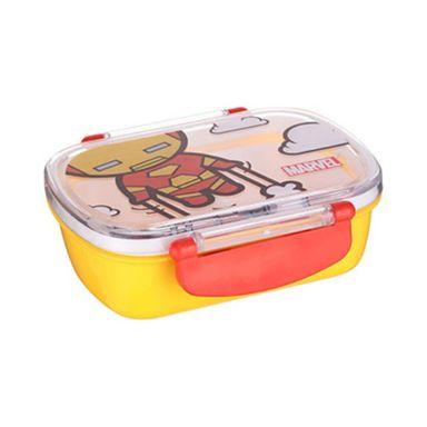 Contenedor para lunch iron man 360 ml amarillo -  Marvel