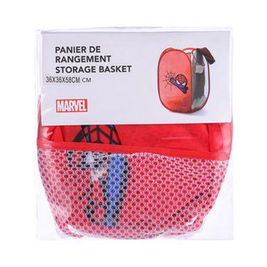 Organizador tipo cesto spiderman plomo/rojo/azul - Marvel