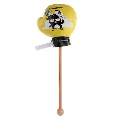 Masajeador tipo martillo puño bad badzt maru negro/amarillo -  Sanrio