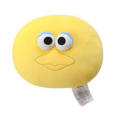 Almohada redonda abelardo amarillo - Plaza Sésamo