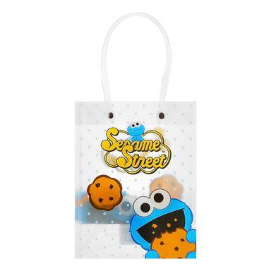 Bolsa de regalo pequeña diseños mixtos multicolor - Plaza Sésamo