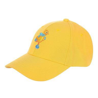 Gorra de beisbol con bordado colores mixtos  blanco/negro/amarillo -  Plaza Sésamo