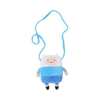 Funda tipo bolso para celular de finn azul blanco -  Adventure Time