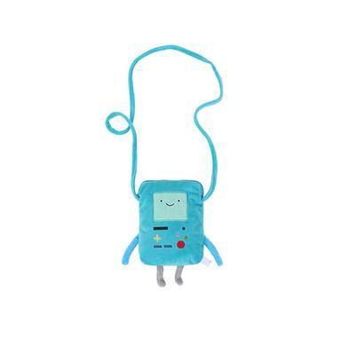 Funda tipo bolso para celular de bmo azul -  Adventure Time