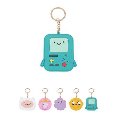 Llavero con espejo verde/amarillo/blanco/lila - Adventure Time