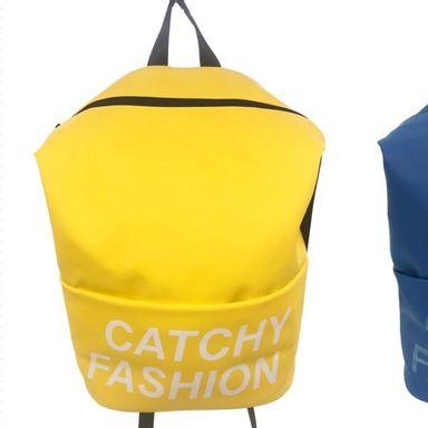 Mochila de moda  amarillo catchy fashion  -  Miniso