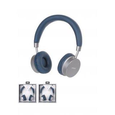 Audifonos de diadema inalambrico premium h-023 gris - Miniso