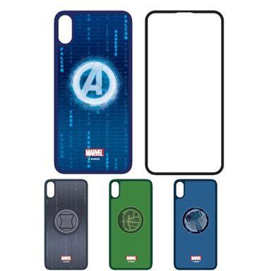 Mica de cristal templado para Iphone X/XS 3d v2 - Marvel