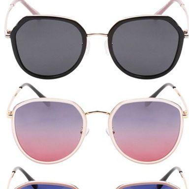 Lentes de sol para mujer moda multicolores - Miniso