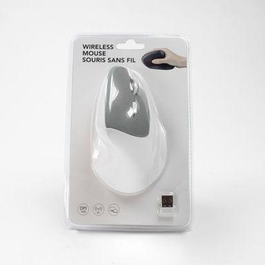 Mouse inalámbrico ergonómico Mod wm-101 negro/blanco - Miniso