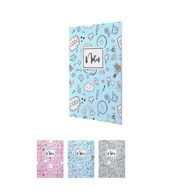 Cuaderno de notas a4 al reves b modelos mixtos -  Miniso