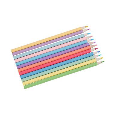 Paquete de Lápices de colores pastel 12 pzs -  Miniso