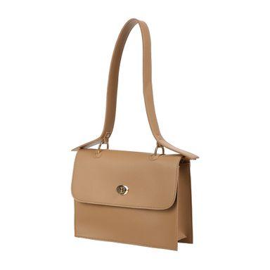 Bolsa clutch simple de moda beige - Miniso