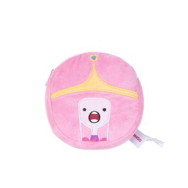 Monedero en forma de cara de princess bubblegum rosa  -  Miniso