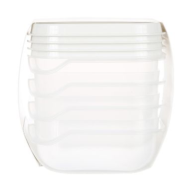 Taper de plástico transparente 180ml 4 pzas -  Miniso