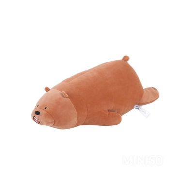 Peluche grizzly acostado - We Bare Bears
