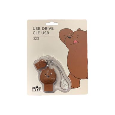 Memoria usb 32 gb grizzly - We Bare Bears