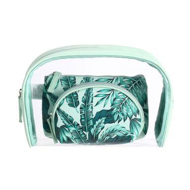 Cosmetiquera 3 piezas estampado tropical modelos mixtos - Miniso